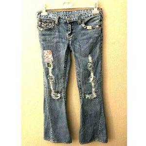 True Religion Size 32 Boot Cut Jeans Woodstock